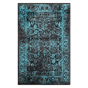 N° 201 Alfombra Persian Black Mint / 152x94