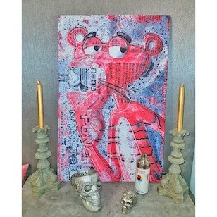 Cuadro Canvas / Pink Panther (85x55)