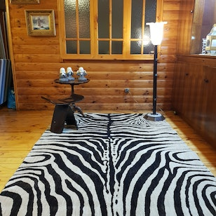 Alfombra Zebra Queen / The Rug Collection