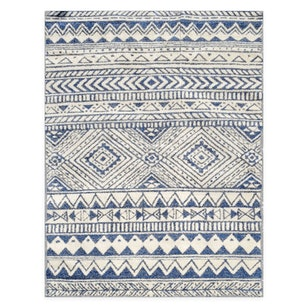 N° 189 Alfombra Ethnic Blue  / 272x199 (OUTLET)