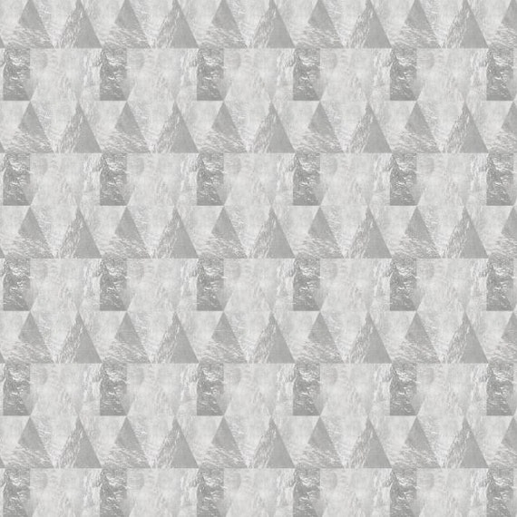 Papel Mural / Grey triangles
