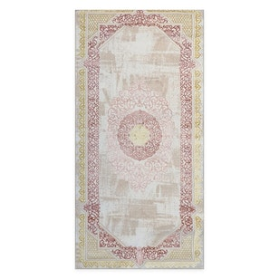 N° 167 Alfombra Arabic Gold Rose / 197x100 (OUTLET)