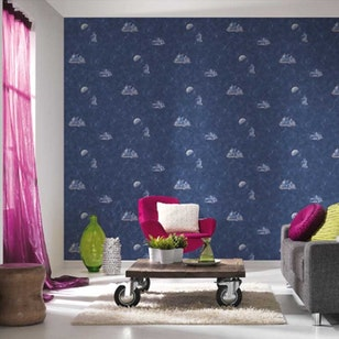 Papel Mural Boys & Girls 5  304891 Azul