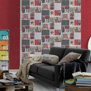 Papel Mural Boys & Girls 5 955961 rojo