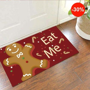 Tapete Decorativo Para Puerta Eat Me!