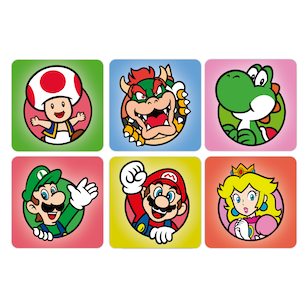 SET 6 POSAVASOS / Super Mario