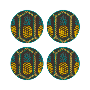 SET 6 POSAVASOS / Pineapple