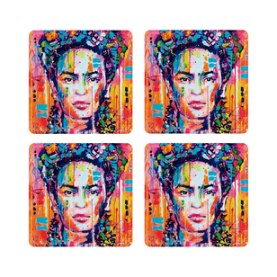 SET 6 POSAVASOS / Frida Art