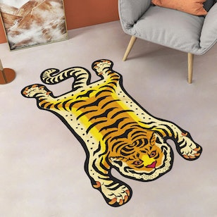 ALFOMBRA PVC / Tiger Orange (100x165cm)