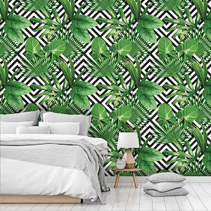 Papel Mural  / Natural Geometric