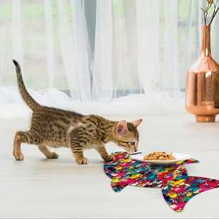 Tapete PVC PETS / Colors (80x40)