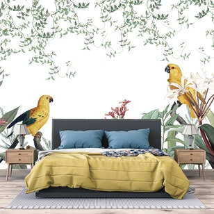 Papel Mural / Vintage tropical
