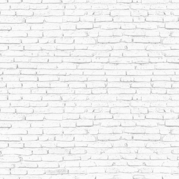 Papel Mural / White Bricks