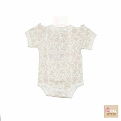 Girl Short sleeve onesie Flowers