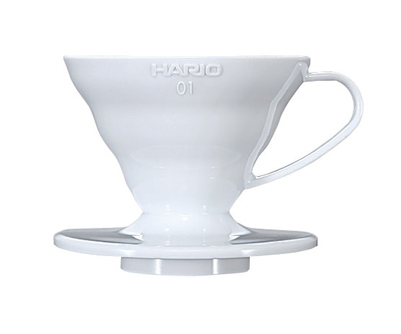 Dripper V60 01 Acrílico Blanco
