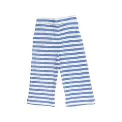 Pull on Striped Pants Blue