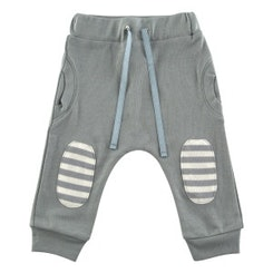 Grey bubble pant