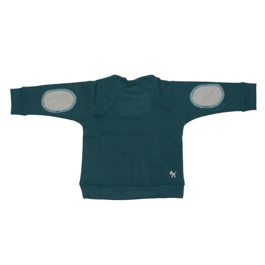 French Terry Sweatshirt Mediterranean Green