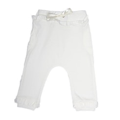 Eco white Bubble pants Girls