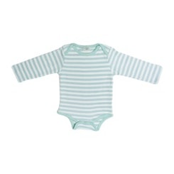 Aqua striped Onesie