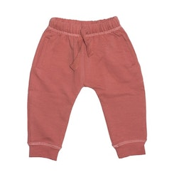French terry pants rose