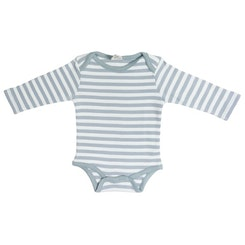 Grey striped Onesie