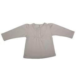 Girl long sleeve tee grey
